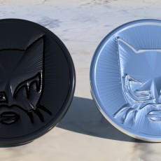 Catwoman coaster pair