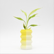 Accordion Vase