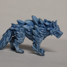 Picture of print of Ice Wolf - Monstrous Creature - 32mm Scale
