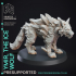 Ice Wolf - Monstrous Creature - 32mm Scale image
