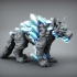 Ice Wolf - Monstrous Creature - 32mm Scale primary image