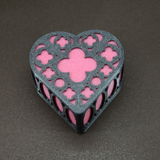 Picture of print of Gothic Heart Box