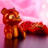 """Valentine's Day Collection: """"Bear Cup"""" + """"I Love You""""  (Support free / Easy to print) image"""