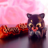 """Valentine's Day Collection: """"Kitty Cat"""" + """"Happy Valentine""""  (Support free / Easy to print) image"""