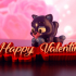 "Valentine's Day Collection: ""Cute Animals"" + ""Decoration elements"" (Support free / Easy to print) image"