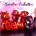 "Valentine's Day Collection: ""Cute Animals"" + ""Decoration elements"" (Support free / Easy to print) primary image"