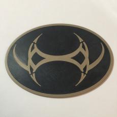 Stargate SG-1 Emblem of Ba'al Coaster