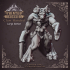 Claw Handed Demon - Greater Demon - 32 mm scale table top miniature (Pre-supported) image