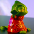Pascal from Tangled - Easy to print image