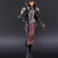 Picture of print of Moira Blackwatch Skin - Overwatch - 20 cm
