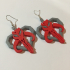 Star Wars Heart of Mandalore Earrings image
