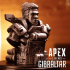 """Gibraltar-Bust from """"Apex Legends"""" (Support Free Model) primary image"""