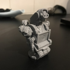 """Picture of print of Pathfinder-Bust from """"Apex Legends"""" (Support Free Model)"""