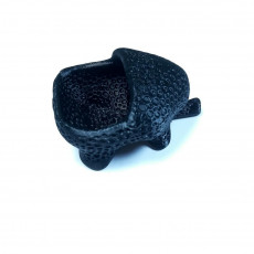 Picture of print of Elephant dryer (closed voronoi)
