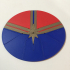 Captain Marvel Emblem Coaster image