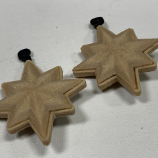 Picture of print of Captain Marvel Emblem Earrings