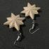 Captain Marvel Emblem Earrings image
