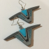 Stargate Chevron Earrings image