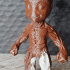 """""""Baby Groot"""" from """"Guardians of the Galaxy"""" (Support free figure) print image"""