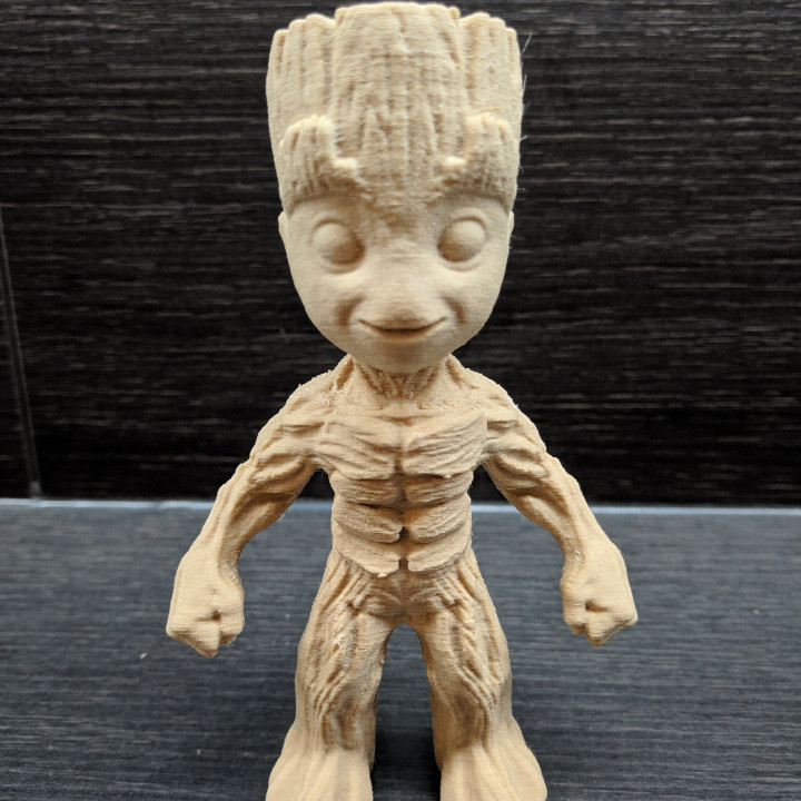 """""""Baby Groot"""" from """"Guardians of the Galaxy"""" (Support free figure)"""
