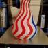 Stream Vase (with inserts!) print image