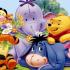 Winnie the pooh drinkcoaster (pair) image