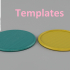 Templates for coasters image