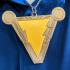 Shazam Logo Coaster print image