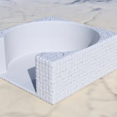 Coasterholder with knobs