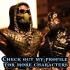 Sub Zero from Mortal Kombat - Support free bust image