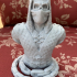 Scorpion from Mortal Kombat - Support free bust print image