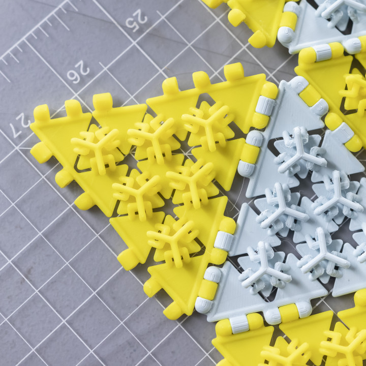 Polypanels // Triangle Mesh Fabric