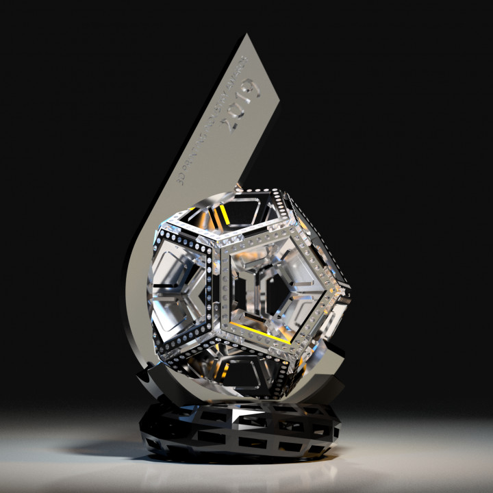 Flame of Possibility - 3DPIA 2019 Trophy