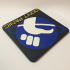 Hitchhiker's Guide to the Galaxy 'Don't Panic' Logo Coaster image