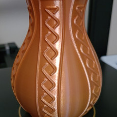 Picture of print of Banner Vase