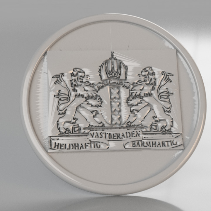 Coat of arms of Amsterdam coaster