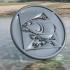 Carp coaster (Kevin Nash) image