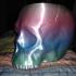 Grim Skull Vase print image