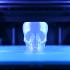 Grim Skull Vase image