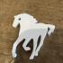 Horse keychain image