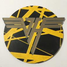Van Halen 'Bumblebee' Logo Coaster