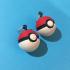Pokeball Earrings image