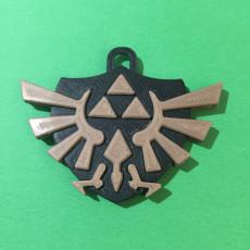 Legends of Zelda Triforce Pendant