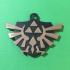 Legends of Zelda Triforce Pendant image
