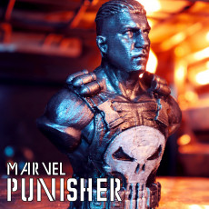 Punisher - Frank Castle / Support Free Bust