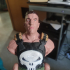 Punisher - Frank Castle / Support Free Bust print image