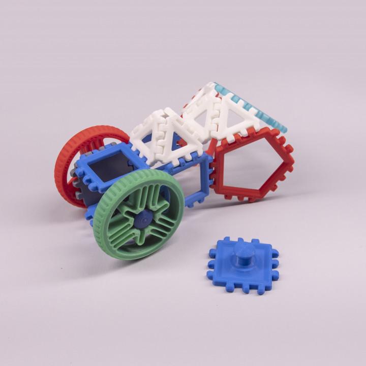 Polypanels // Play Wheel