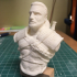 """Geralt of Rivia from """"The Witcher"""" / Support free bust print image"""