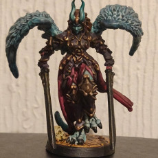 Picture of print of Erinyes - Hell Angel - Hell Hath No Fury - 32MM (Pre-supported)