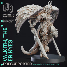 Erinyes - Hell Angel - Hell Hath No Fury - 32MM (Pre-supported)